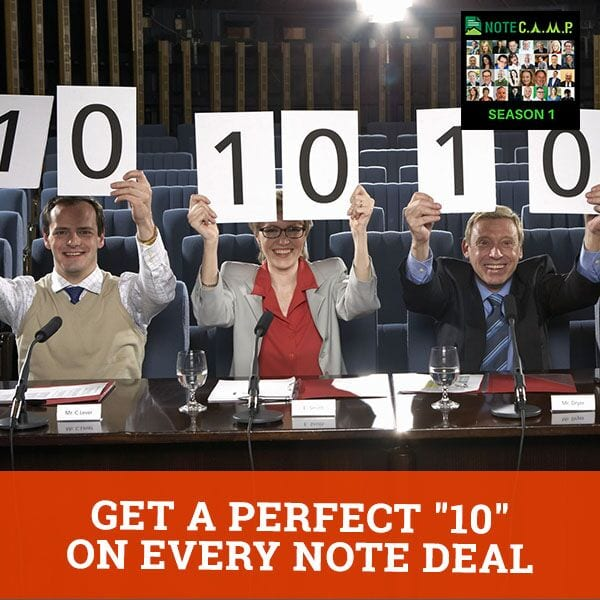 """Get a PERFECT """"10"""" on EVERY Note Deal with Bob Zachmeier"""