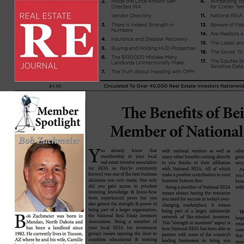 2018's #1 Featured Member in The National REIA